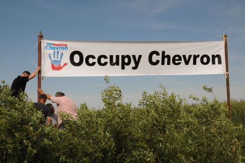 Photo: Occupy Chevron